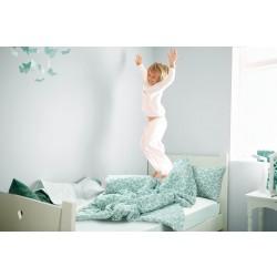 Детски спален комплект перкал GEO GREEN /гео грийн/