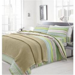 Плетено одеяло Натурал