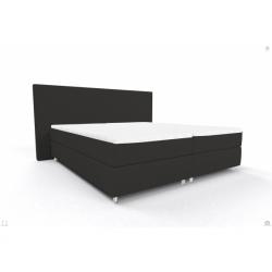 Bed 200/200 OSLO OS BB PP DARCK GREY