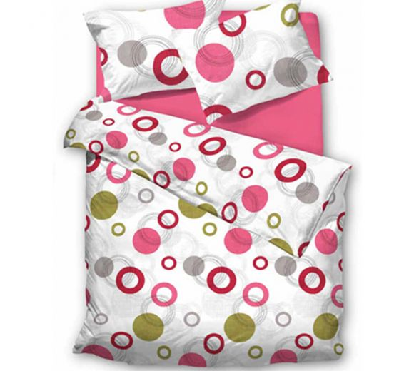 Спален комплект Розови бонбони