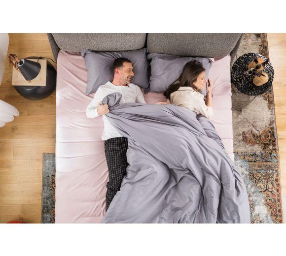 Спален комплект Amber Памучен сатен лукс Mystic Blush - 3