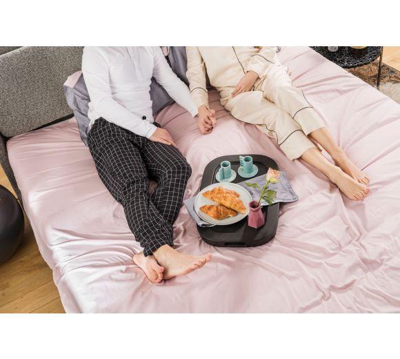 Спален комплект Amber Памучен сатен лукс Mystic Blush - 2