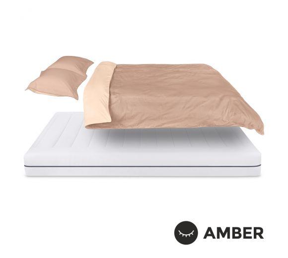 Спален комплект Amber Памучен сатен лукс Amber Breath - 1