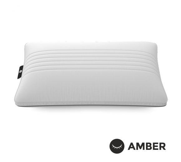 Ортопедична възглавница Amber Solid / Амбър Солид с кехлибар - 1