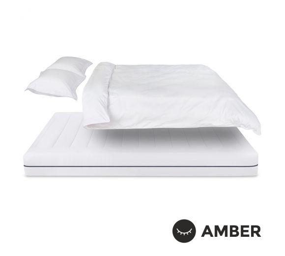 Спален комплект Amber Памучен сатен лукс Cotton Frost - 1