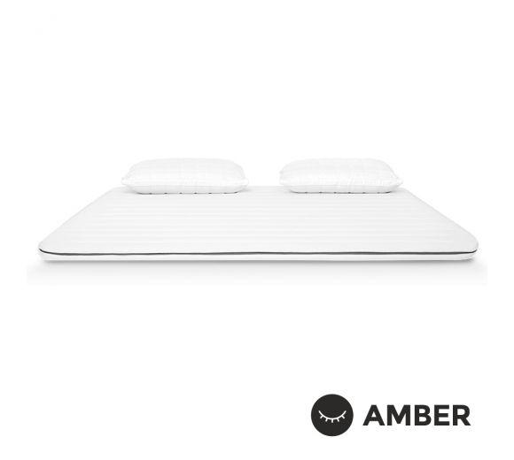 Топ матрак Amber Memo Premium / Амбър Мемо Премиум / топ матрак с мемори пяна и кехлибар - 1