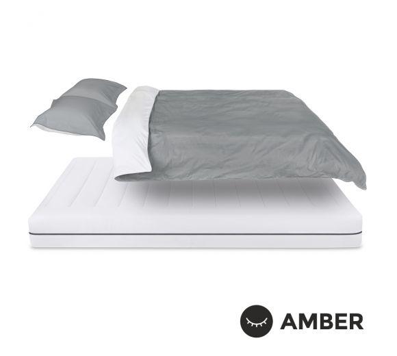 Спален комплект Amber Памучен сатен лукс Urban Mist - 4