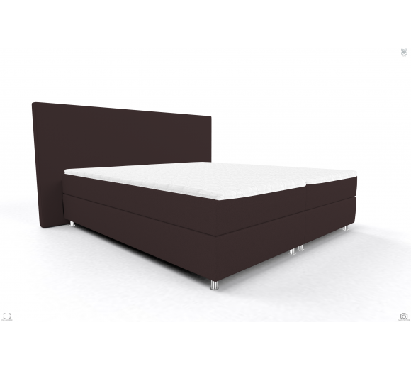 Black Friday Bed OSLO OS BB P BROWN