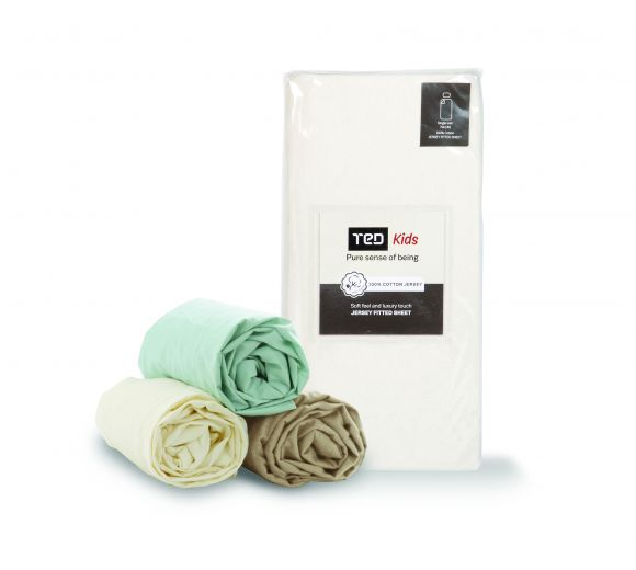 Цветен чаршаф с ластик за бебе/дете - 3