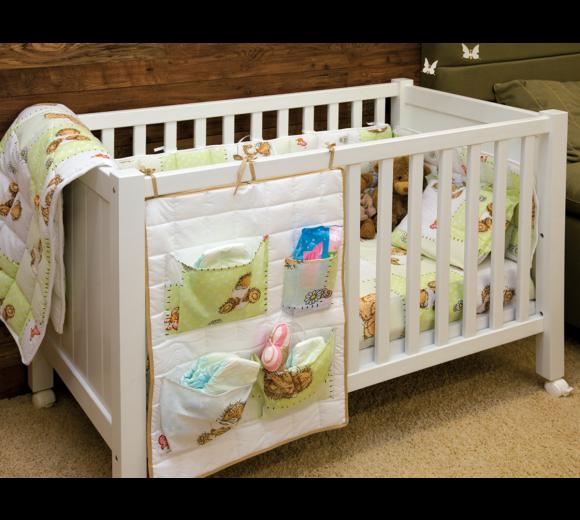 Органайзър за бебешко легло - 2