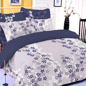 Спален комплект Лилави цветя