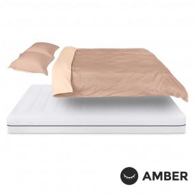 Спален комплект Amber Памучен сатен лукс Amber Breath