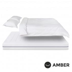 Спален комплект Amber Памучен сатен лукс Cotton Frost