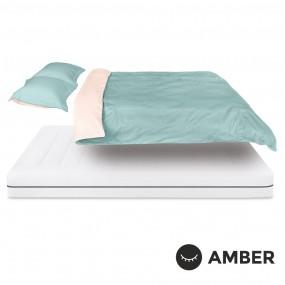Спален комплект Amber Памучен сатен лукс Sapphire Dust