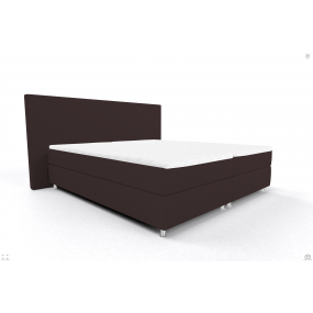 Black Friday Bed 200/200 OSLO OS BB PP BROWN