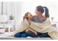 Памучно лятно ажурено одеяло в цветове - 1t