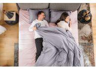 Спален комплект Amber Памучен сатен лукс Mystic Blush - 3t