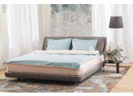 Спален комплект Amber Памучен сатен лукс Sapphire Dust - 2t