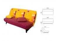 Футон диван - 2t