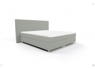 Bed 140/200 OSLO OS BB PP LIGHT GREY - 1t