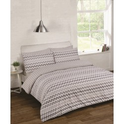 Bedding Set Chevron Gray