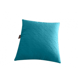 Decorative pillow for a blanket