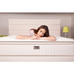 Luxurious two-sided CYDONIA mattress
