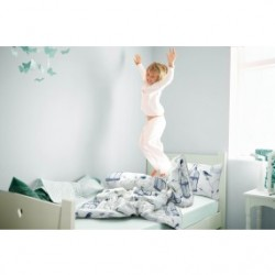 Kids' bedding set percale Bird Cage