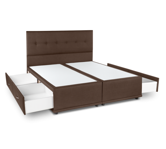 Comfort Supreme Bed Base with 4 drawers - 1