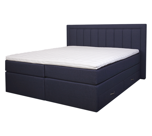 Diva Boxspring Bed with 4 drawers - 5