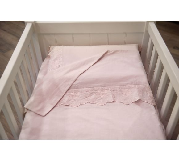 Baby bedding sets with lace - 2