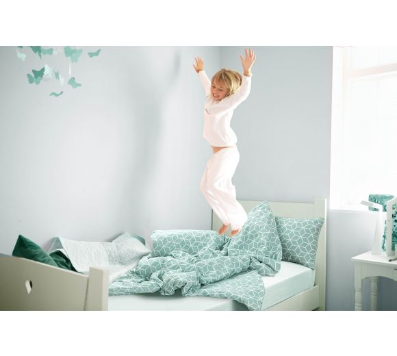 Kids' Bedding set Geo Green