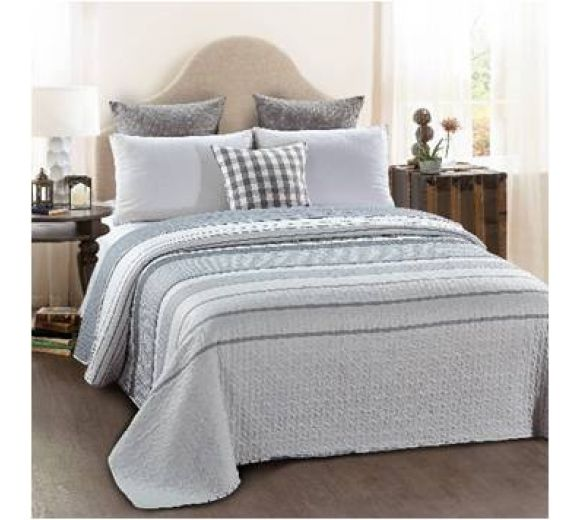Modern design double-sided quilt cover - Stripes