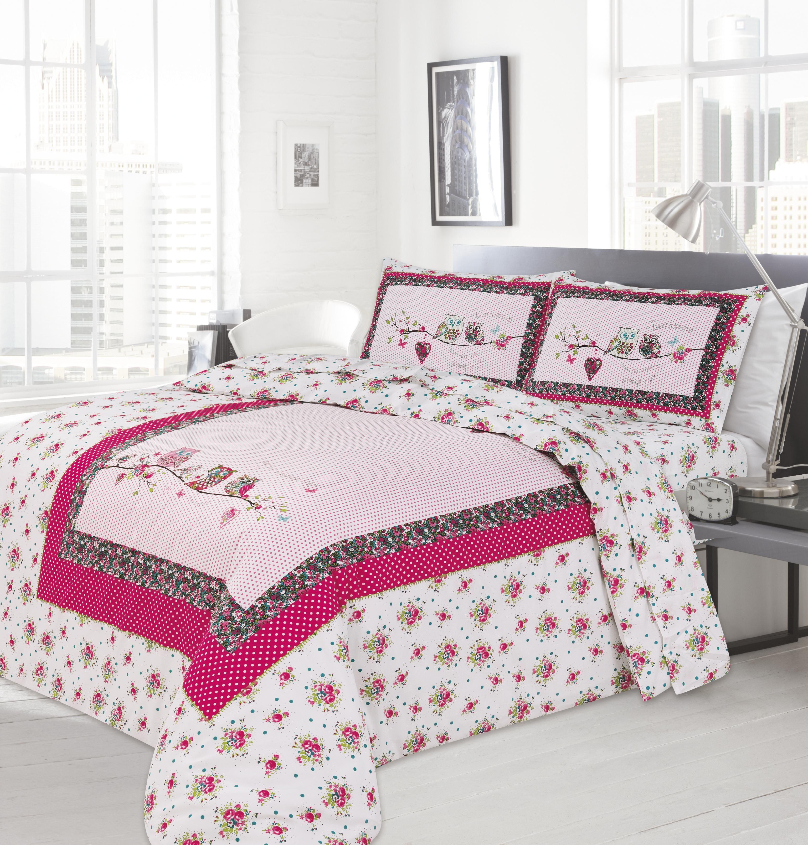 Bedding Set Modern Design  Little Owl