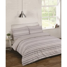Bedding Set Chevron Grey