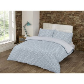 Bedding Set Geo Green