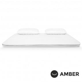 Топ матрак Amber Memo Premium / Амбър Мемо Премиум / топ матрак с мемори пяна и кехлибар