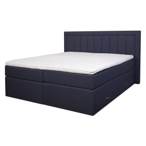 Diva Boxspring Bed with 4 drawers