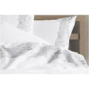 Luxury Style Bed Linen with embroidery - Gray