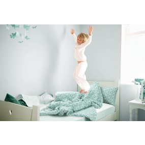 Kids' Bedding set Geo Green