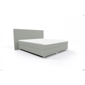Bed 140/200 OSLO OS BB PP LIGHT GREY