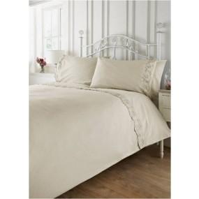 Vintage Style Bed Linen Set - Ecru