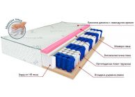 Lavender Duo one-sided mattress /lavender duo/ - 3t