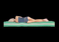 Sleep Genesis presents: Ergo Disk orthopedic two-sided mattress - 3t