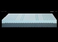 Sleep Genesis presents: Flex Fit two-sided mattress - 4t