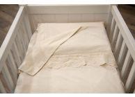 Бебешки спални комплекти с дантела - 1t