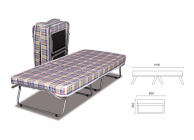 Convertible bed Plain New - 2t